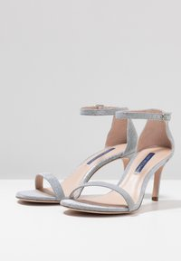 Stuart Weitzman - High heeled sandals - silver - 4