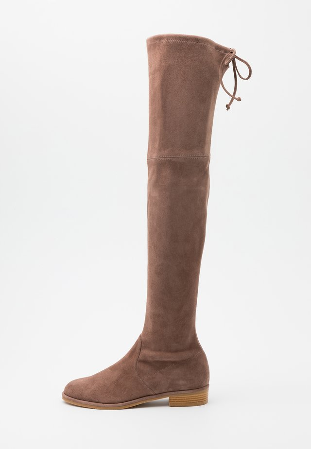 LOWLAND - Over-the-knee boots - taupe