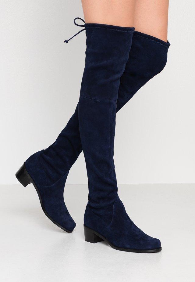 MIDLAND - Overknee laarzen - nice blue