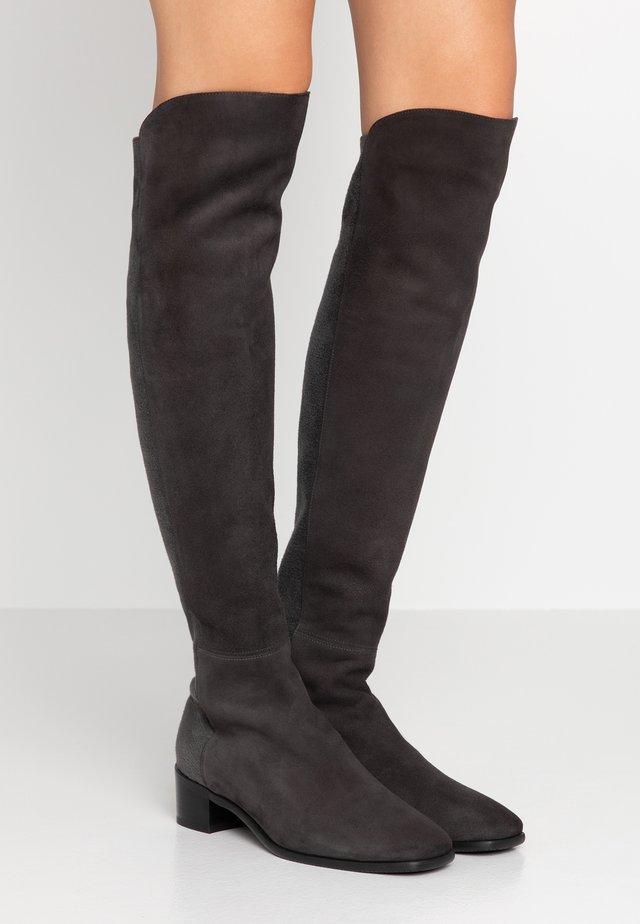 TIA - Overknee laarzen - slate