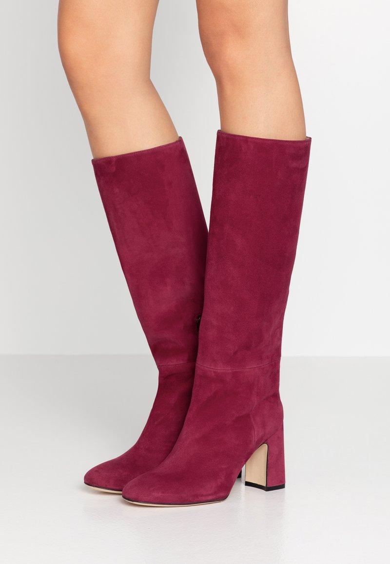 Stuart Weitzman - TALINA - Boots med høye hæler - cranberry
