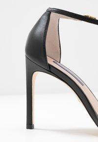 Stuart Weitzman - NUDISTSONG - Sandalen met hoge hak - black dress - 2