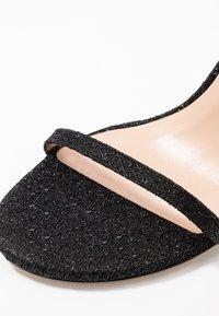 Stuart Weitzman - NUDIST DISCO - Korolliset sandaalit - black - 2