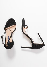 Stuart Weitzman - NUDIST DISCO - Korolliset sandaalit - black - 3