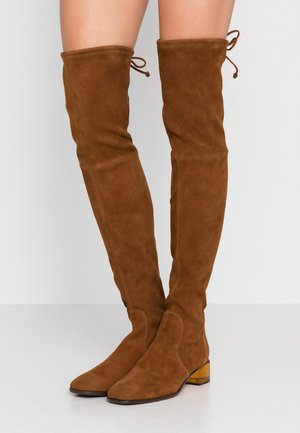 CHAROLET - Over-the-knee boots - coffee