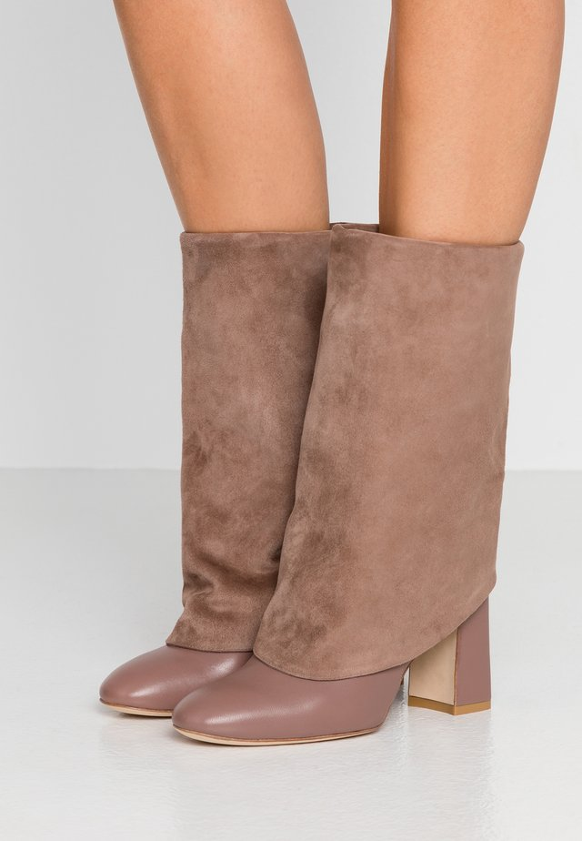 LUCINDA - High heeled boots - taupe