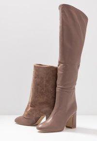 Stuart Weitzman - LUCINDA - High heeled boots - taupe - 7