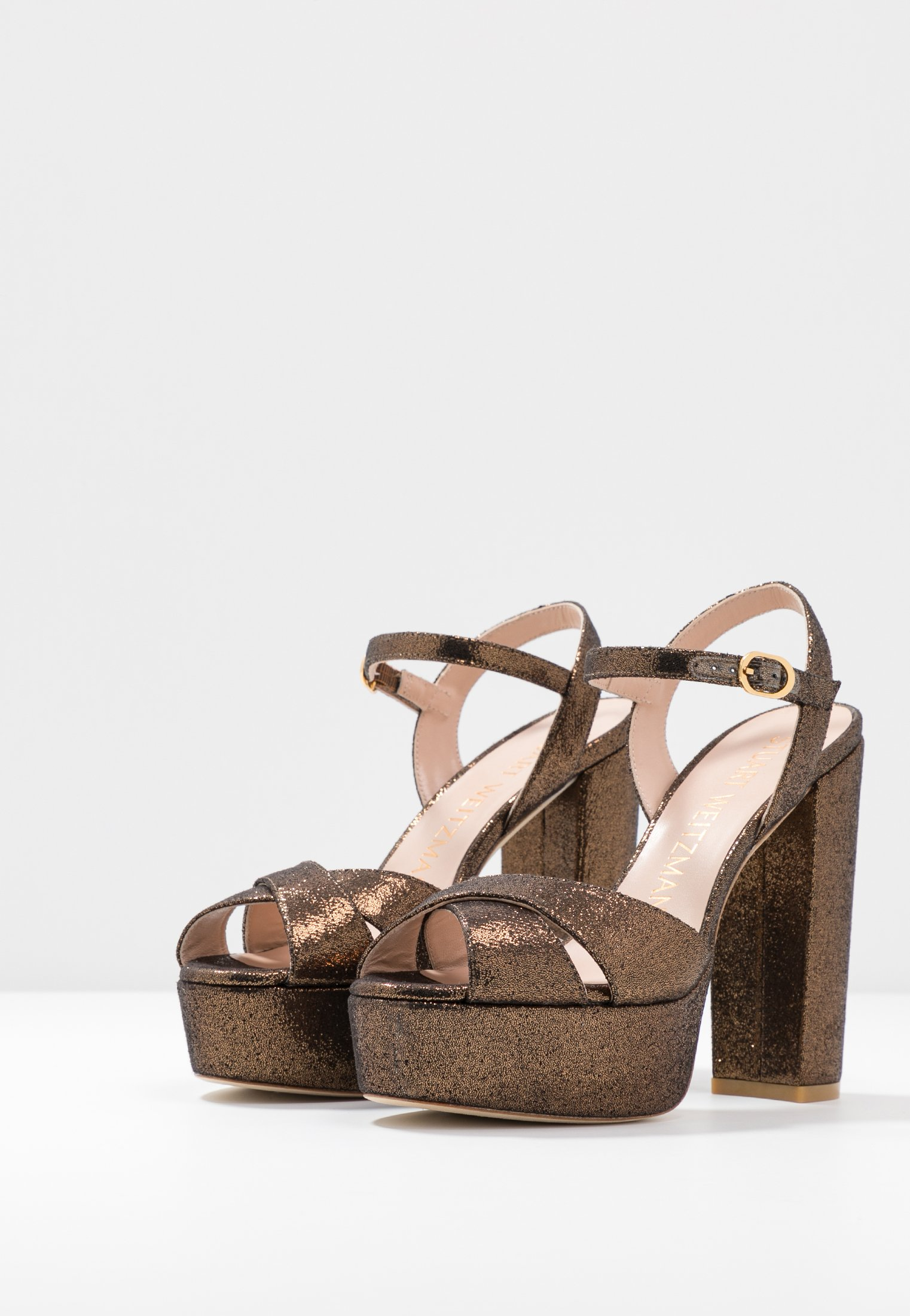 Stuart Weitzman SOLIESSE - Sandaler med høye hæler - bronze