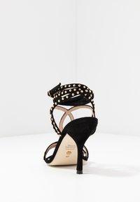 Stuart Weitzman - LEYA BEAD - High heeled sandals - black/gold - 5