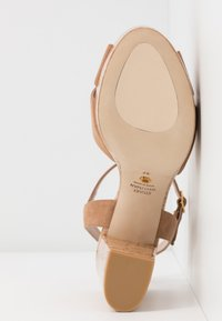 Stuart Weitzman - IVONA - High heeled sandals - tan/nature - 6