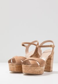 Stuart Weitzman - IVONA - High heeled sandals - tan/nature - 4