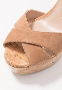 Stuart Weitzman - IVONA - High heeled sandals - tan/nature - 2