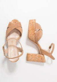 Stuart Weitzman - IVONA - High heeled sandals - tan/nature - 3