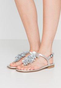 Stuart Weitzman - DEVORAH - T-bar sandals - silver - 0