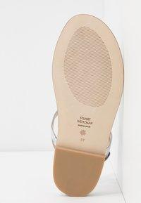 Stuart Weitzman - DEVORAH - T-bar sandals - silver - 6