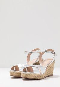 Stuart Weitzman - ROSEMARIE - High heeled sandals - silver - 4