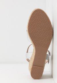 Stuart Weitzman - ROSEMARIE - High heeled sandals - silver - 6