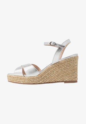 ROSEMARIE - Højhælede sandaletter / Højhælede sandaler - silver