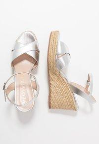 Stuart Weitzman - ROSEMARIE - High heeled sandals - silver - 3