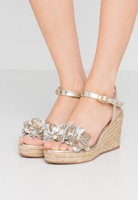 Stuart Weitzman - YUNA - High heeled sandals - platino - 0
