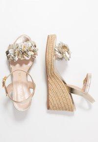 Stuart Weitzman - YUNA - High heeled sandals - platino - 3