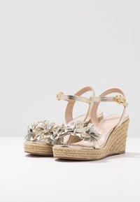 Stuart Weitzman - YUNA - High heeled sandals - platino - 4