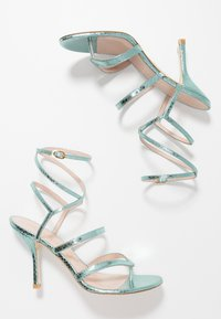 Stuart Weitzman - JULINA  - High heeled sandals - teal - 3
