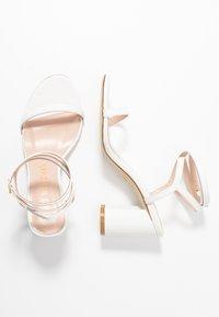 Stuart Weitzman - MERINDA BLOCK - Bridal shoes - white - 3