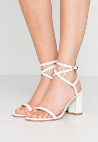 Stuart Weitzman - MERINDA BLOCK - Bridal shoes - white - 0