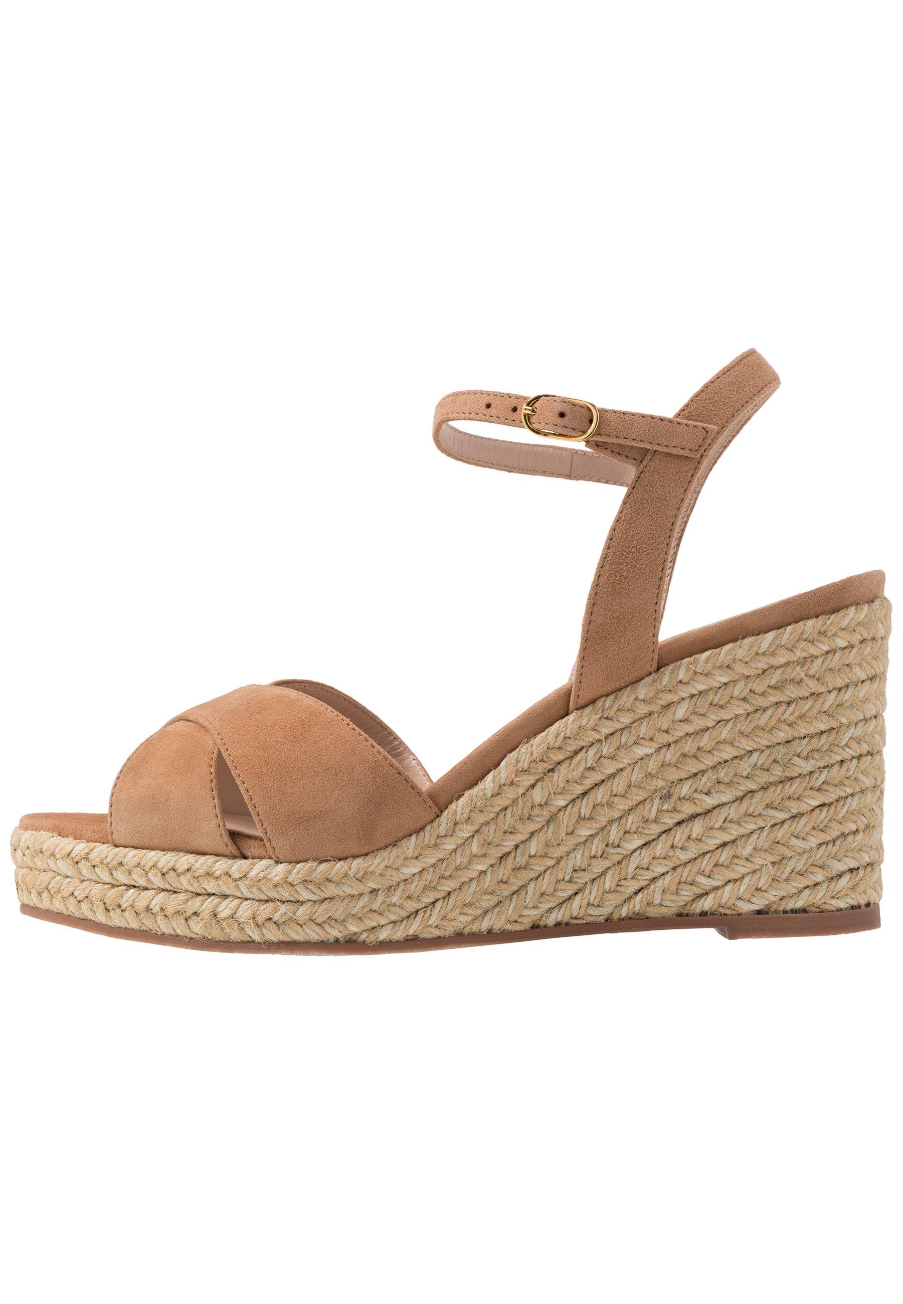 Stuart Weitzman Rosemarie - High Heeled Sandals Tan