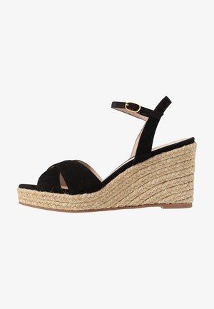 ROSEMARIE - Sandály na vysokém podpatku - black