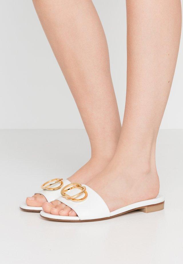 CAICOS - Pantofle - white