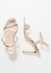 Stuart Weitzman - ALONZA  - High heeled sandals - platino - 3