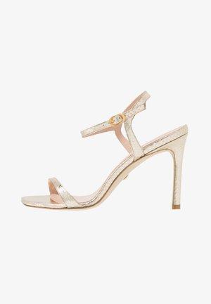 ALONZA  - Sandaler med høye hæler - platino
