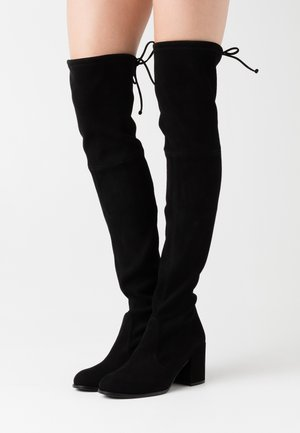 TIELAND - Over-the-knee boots - black