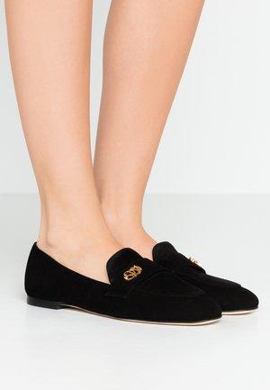 PAYSON LOGO - Nazouvací boty - black