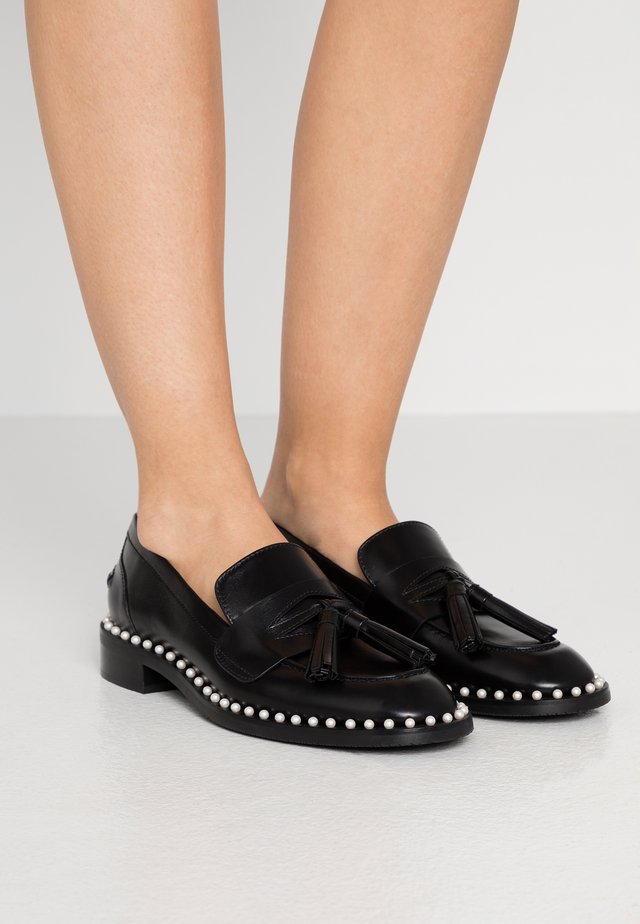 KAYLENE - Loaferit/pistokkaat - black