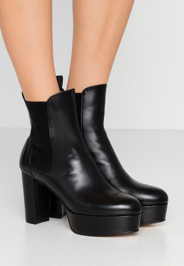 SOPHINA - High heeled ankle boots - black