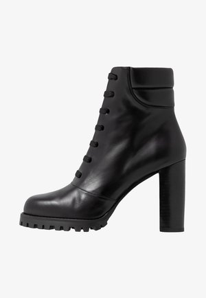 CYLER - High heeled ankle boots - black