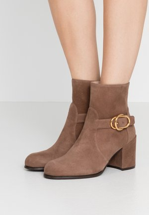 BENEDICTA - Classic ankle boots - taupe