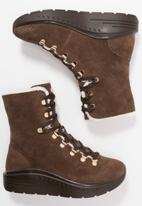 Stuart Weitzman - OCEANE - Lace-up ankle boots - coffee - 3
