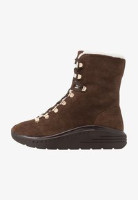 Stuart Weitzman - OCEANE - Lace-up ankle boots - coffee - 1