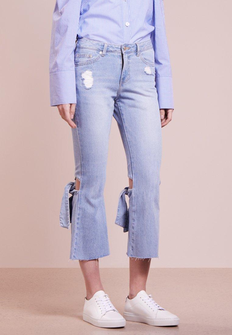 Steve J & Yoni P / SJYP - Bootcut jeans - blue