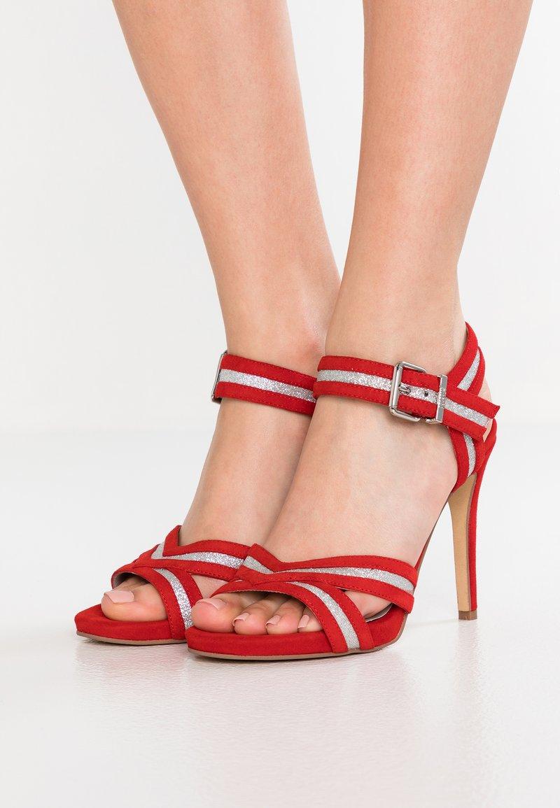 Steffen Schraut - High heeled sandals - red