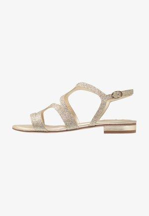 Sandály - platinum