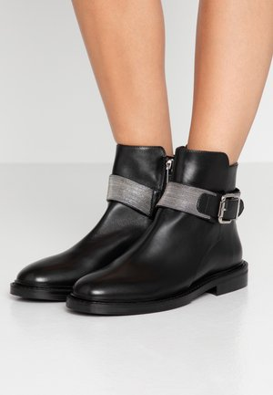 SILVER STREET - Ankle Boot - black/silver