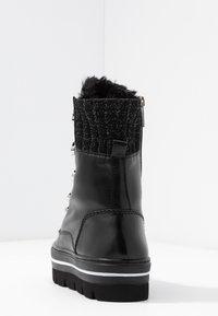 Steffen Schraut - HILL STREET - Kotníkové boty na platformě - black - 5