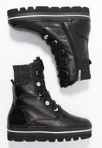 Steffen Schraut - HILL STREET - Kotníkové boty na platformě - black - 3