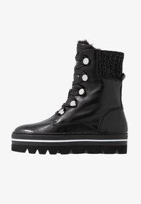 Steffen Schraut - HILL STREET - Kotníkové boty na platformě - black - 1