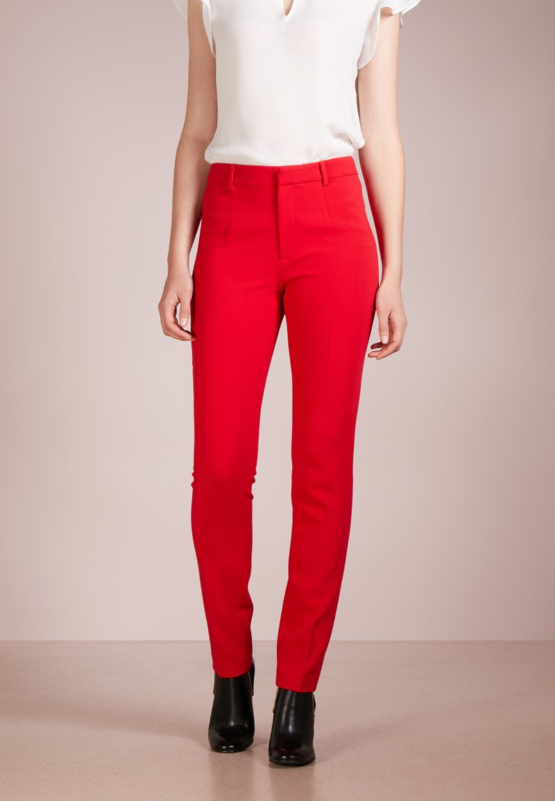 Steffen Schraut - TRIBECA PANTS - Trousers - funky red